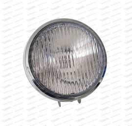 Auxiliary driving lamp with chrome-plated metal housing H3