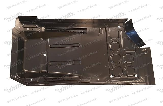 Bodenplatte links mit Schwelleransatz, 500 F/L/R/S/126