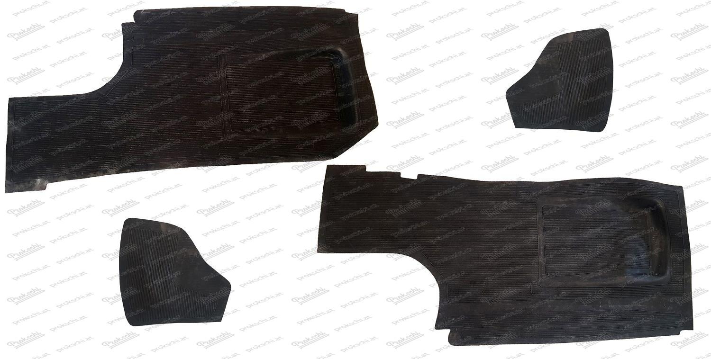 Gummimattensatz 4-Teilig, altes Modell