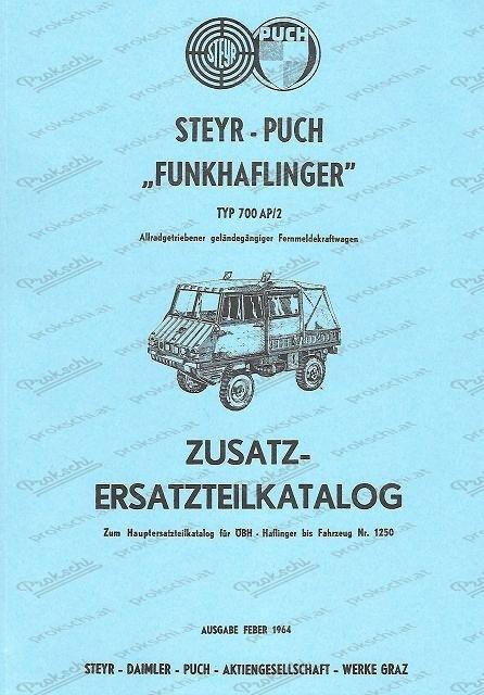 Ersatzteilkatalog Haflinger