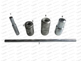 7-Teiliges Werkzeug zur Demontage von Stößelrohren