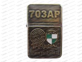 Benzin Sturmfeuerzeug Haflinger 703 AP