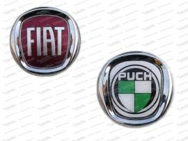 Geleepickerl Fiat zu Puch