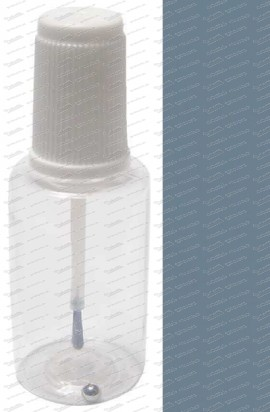 Pinselflasche - Stahlblau 50ml