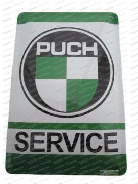 Puch Service Blechtafel