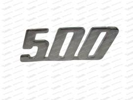 Schriftzug: 500