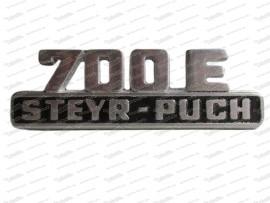 Schriftzug: 700E