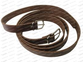 Befestigungsgurte für Koffer (110cm, Leder)