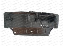 Stufenblech / Kofferraumwanne mit Batteriehalter