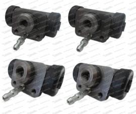 Radbremszylinderset  2x15,87 / 2x 17,46mm