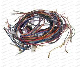Kabelbaum für Fiat 500 F (1.Serie) inkl. Schaltplan