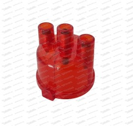 Verteilerkappe (Rot-transparent) Fiat 500 N/D/F/L