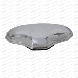 Kennzeichenleuchte, Aluminium verchromt