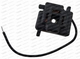 Stecker 3-polig f. Scheinwerferlampe (502.2.85.010.0)