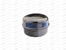 Radnabenkappe-Fettkappe, verchromt (34,5 mm) (1.Serie)