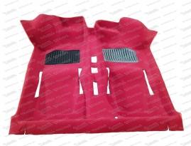 Formteppich rot 500/126