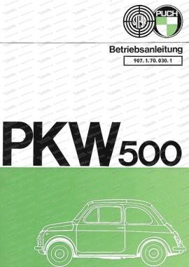Betriebsanleitung Puch 500 S