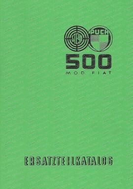 Ersatzteilkatalog Steyr Puch 500