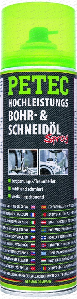 Hochleistungs Bohr- & Schneidöl 500 ml Spray
