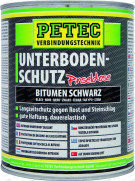 Unterbodenschutz Bitumen - schwarz - 1000 ml Pinseldose
