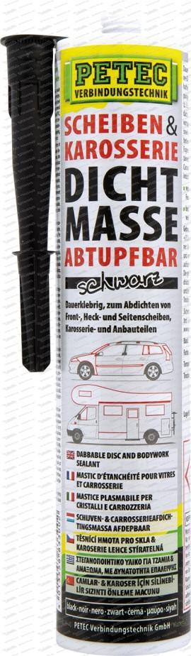 Scheiben- & Karosseriedichtmasse abtupfbar - 310 ml Kartusche