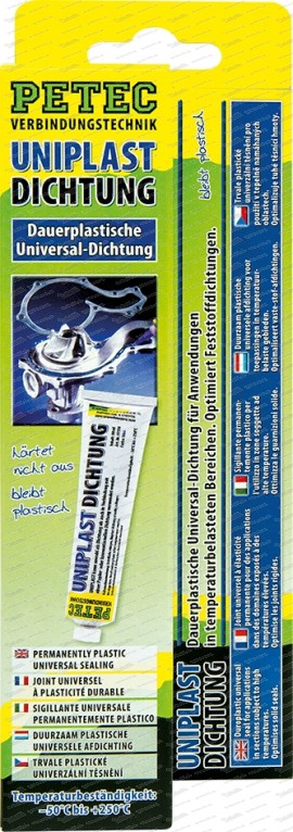 Uniplastdichtung - dauerplastisch - 80 ml Tube SB-Karte