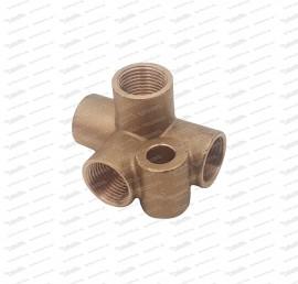 Bremsenverteiler 4-fach - M12x1 (710.1.36.466.1)