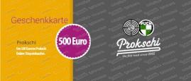 500 Euro Geschenkkarte