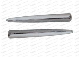 Satz Zierflügel für Frontemblem Fiat 500 N/D/Giardiniera/Bianchina