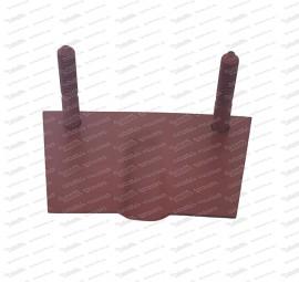 Piastra di montaggio per sospensione anteriore (501.1.7112.2)