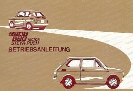 Istruzioni per l'uso Fiat 126 con Puch Engine (tedesco)