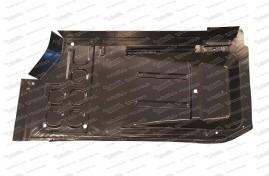 Plaque inférieure droite avec collerette de seuil, 500 F / L / R / S / 126