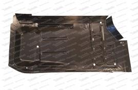 Plaque inférieure gauche avec collerette de seuil, 500 F / L / R / S / 126