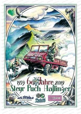 60 Jahre Haflinger Poster 70x50
